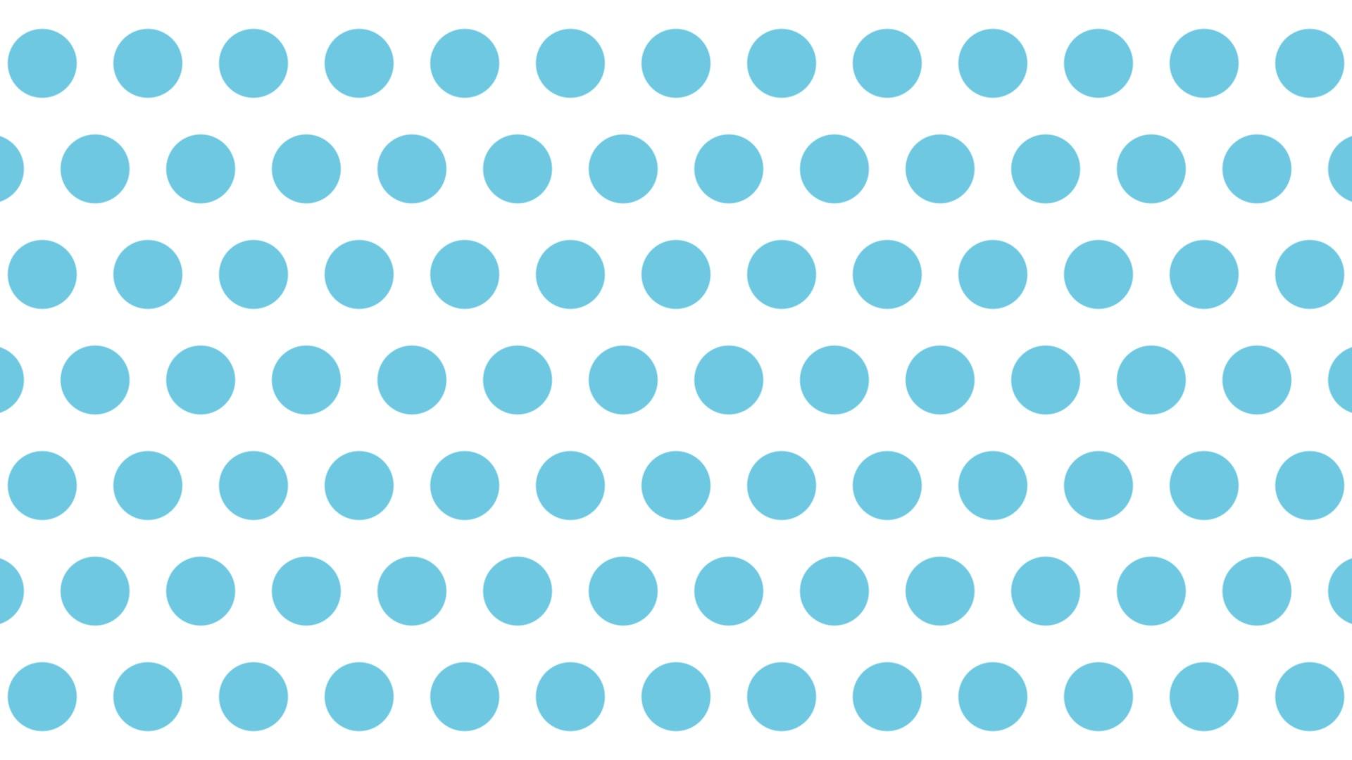 大きい青いドット背景。1920×1080