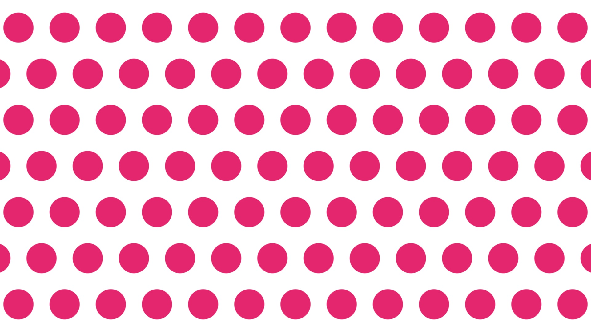 大きい赤いドット背景。1920×1080