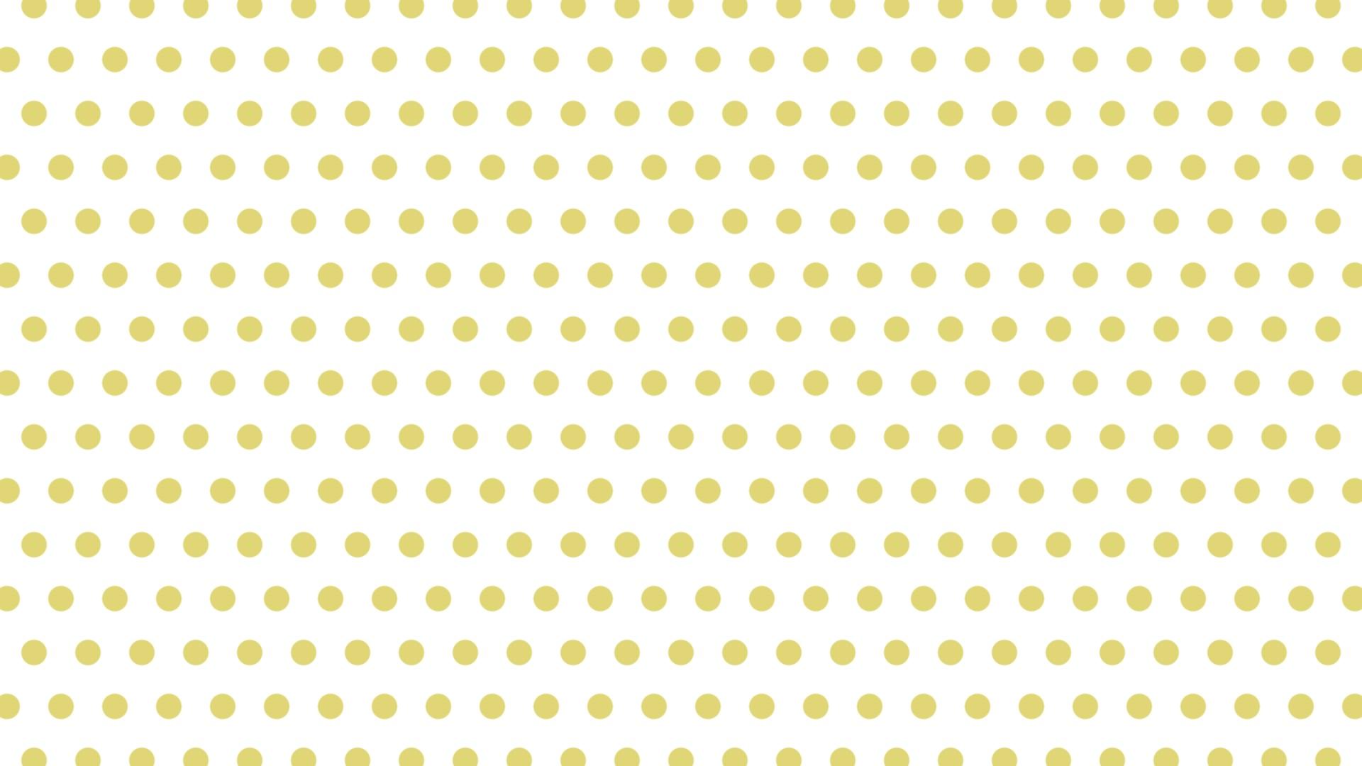 小さい黄色ドット背景。1920×1080