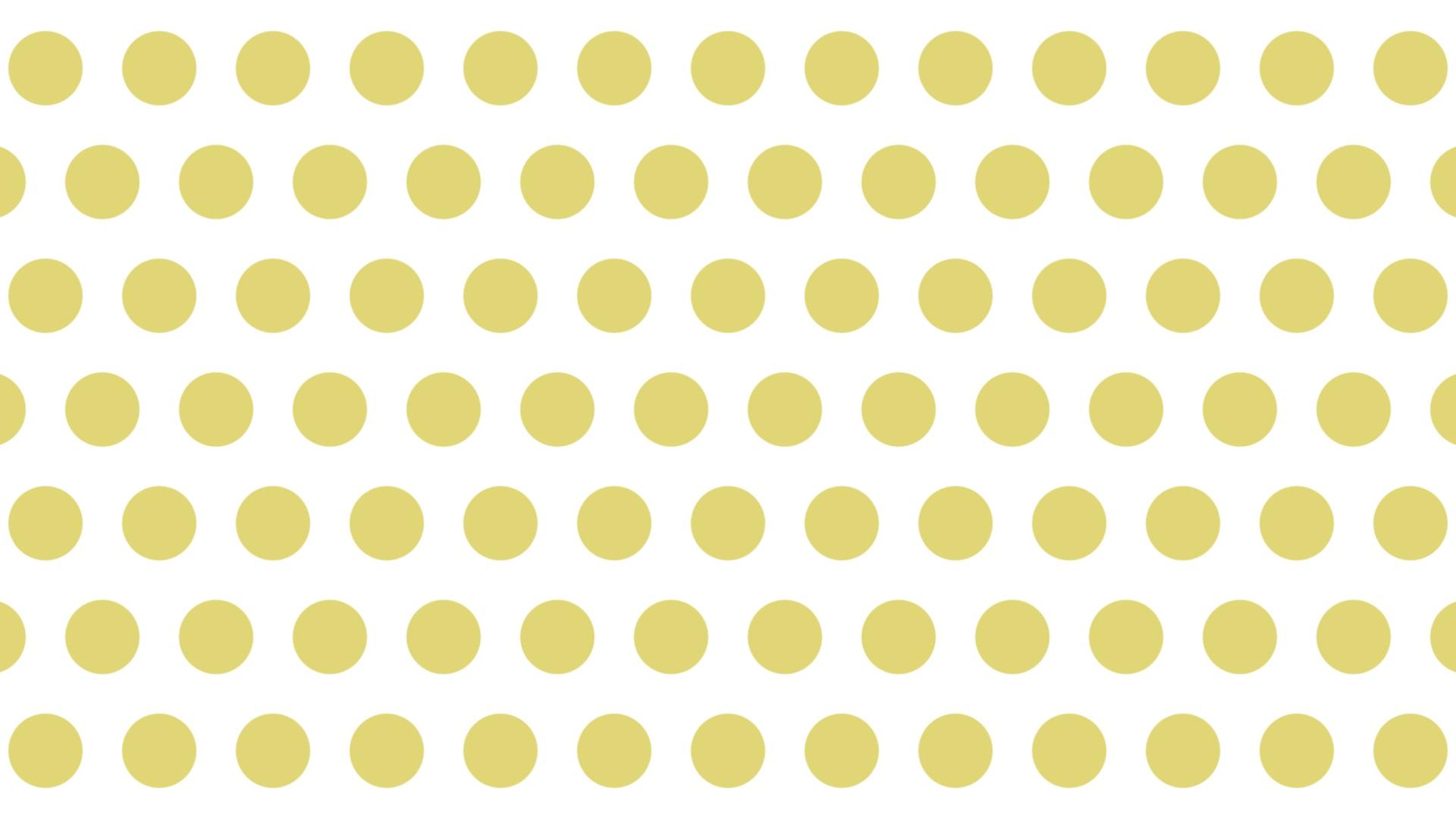 大きい黄色ドット背景。1920×1080