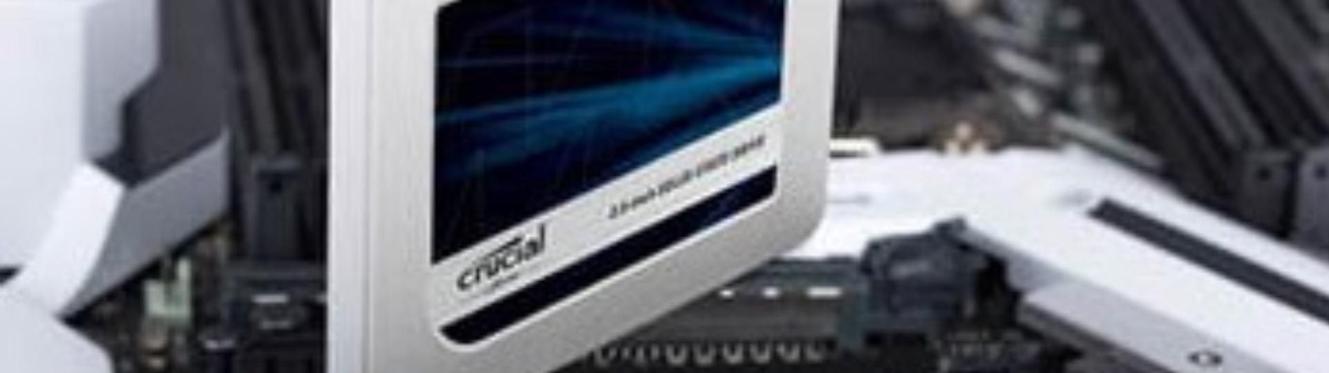 AviUtlにオススメPCスペック:SSD Crucial MX500 CT500MX500SSD1/JP