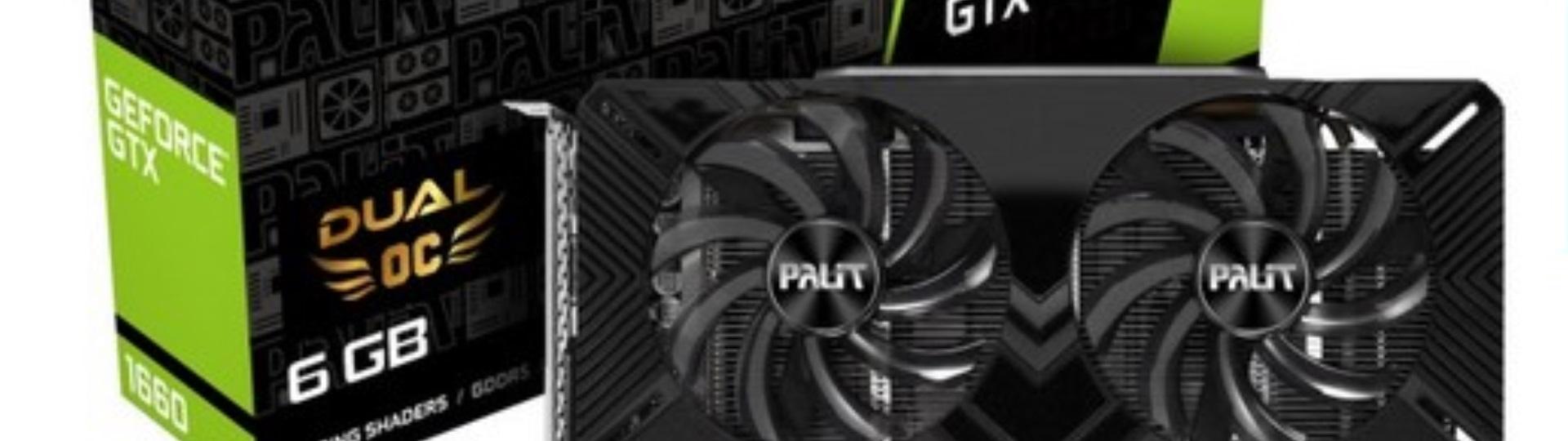 AviUtlにオススメPCスペック:GPU  NE51660S18J9-1161A (GeForce GTX1660 6GB DUAL OC) ドスパラWeb限定モデル