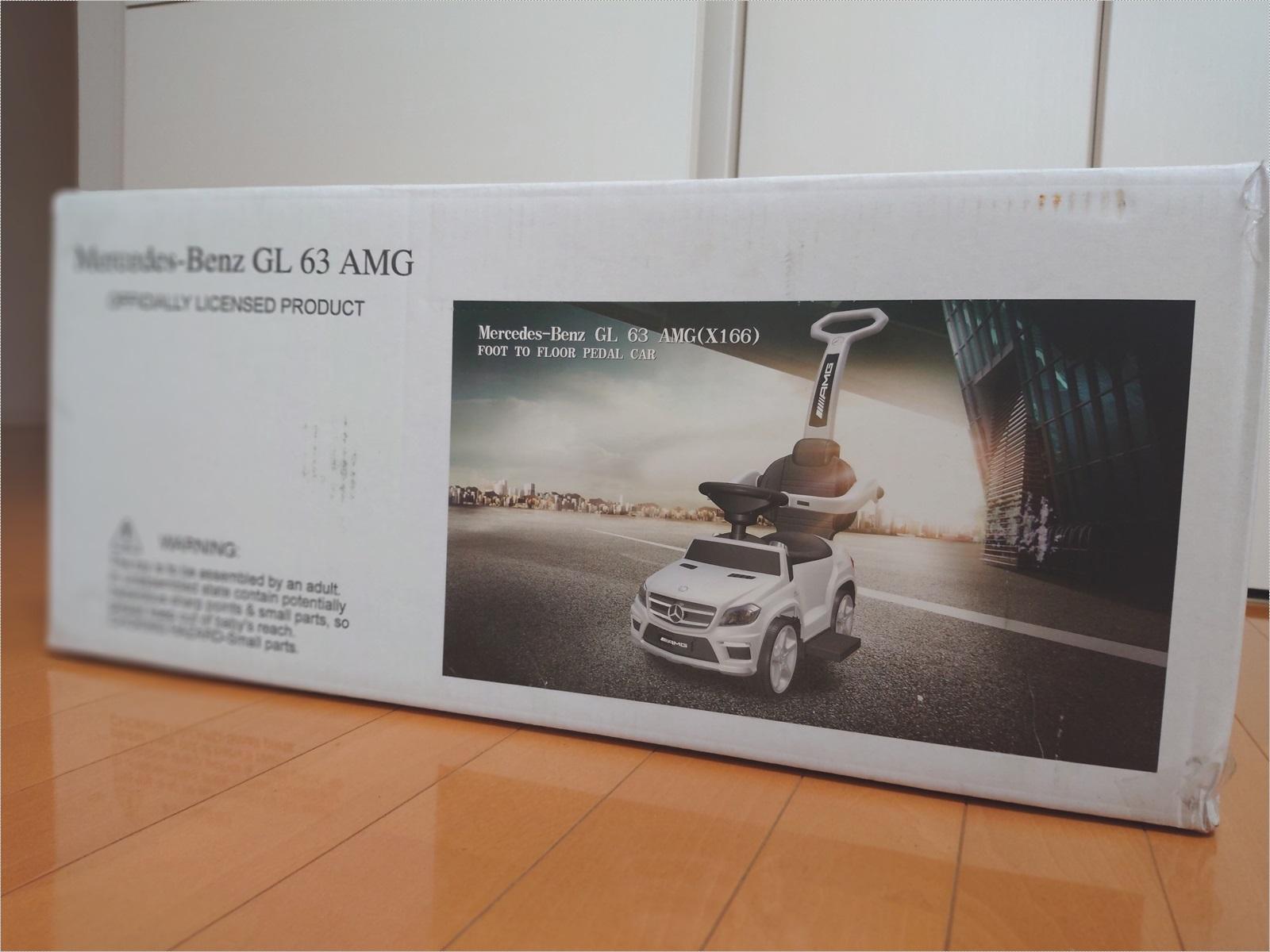 購入したのはメルセデスベンツ GL63 AMGです。 2WAYタイプで押し手を付けたりはずしたりできます。