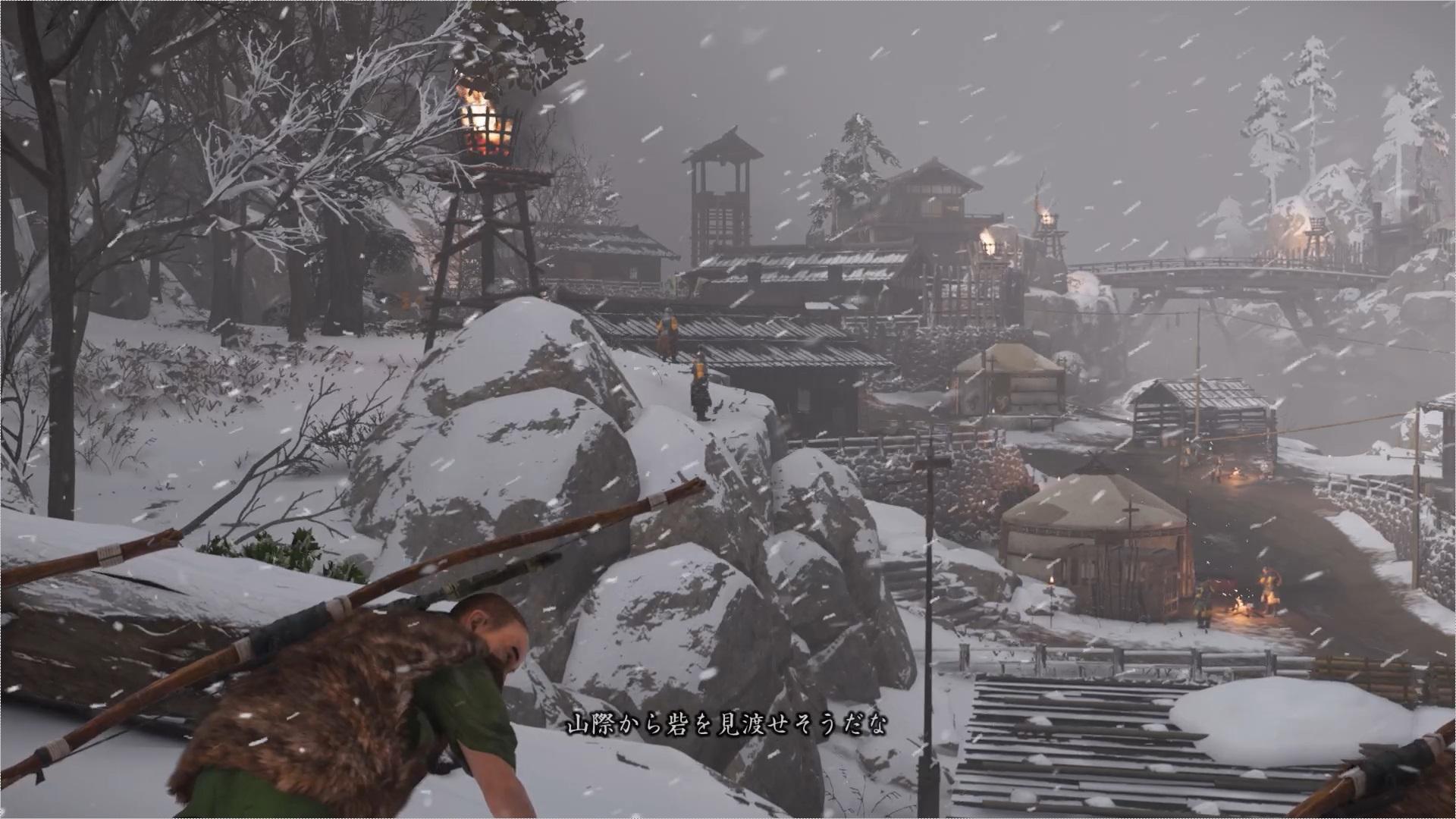 仁は丈志とその狩人仲間とともに砦の北から攻め入ることになった。