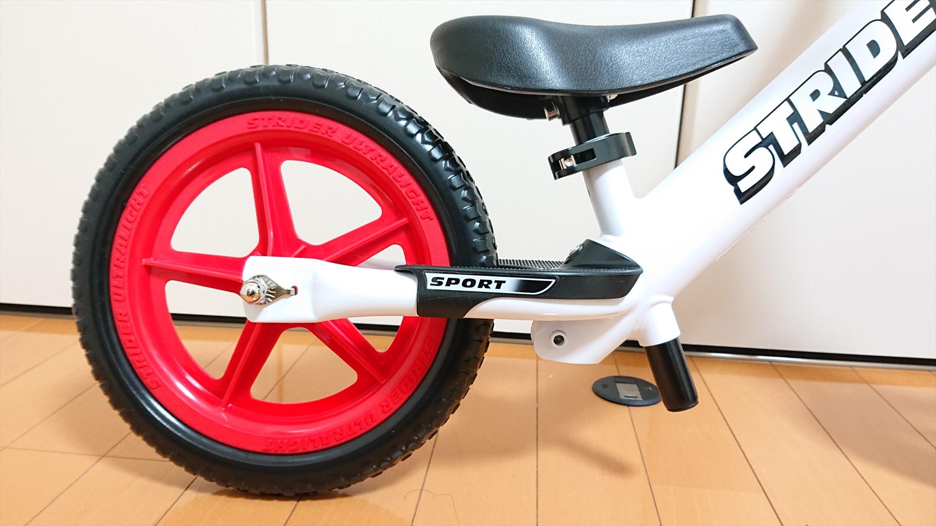 セーブザチルドレンモデルはスポーツモデルと装備は同じです。SPORTのロゴもあります。